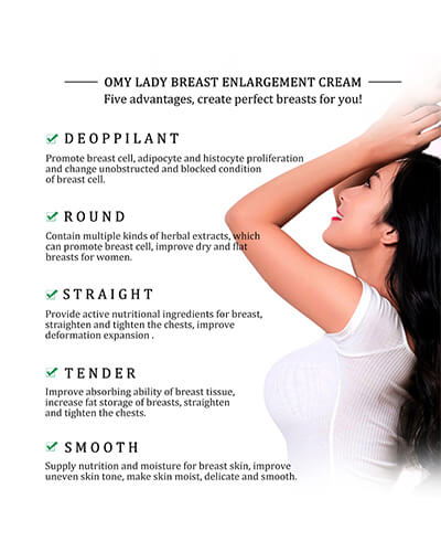 OMY LADY Best Up Size Bust Care Breast Enhancement Cream