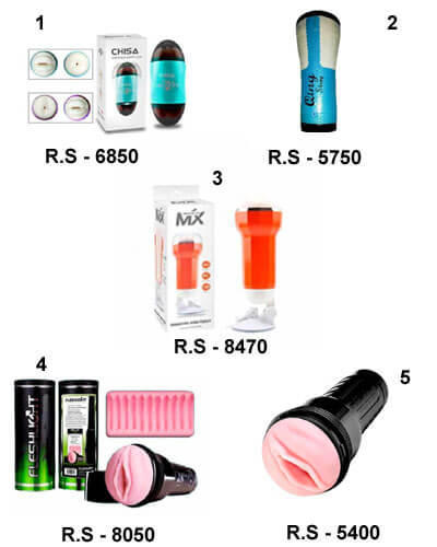 All In One Most Popular Fleshlight's